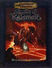 KINGDOMS of KALAMAR MIDNIGHT'S TERROR VF! D&D Dungeons Dragons Module Adventure