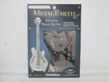 FASCINATIONS METAL EARTH 3D LASER CUT MODEL ELECTRIC BASS GUITAR BRAND NEW L@@K!