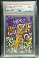 2017 KYLE KUZMA ROOKIE PSA 9 MINT CRYSTAL REFRACTOR LAKERS RC pop 2