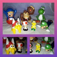 Nintendo/ McDonald Mario Figure Bundle toy yoshi joblot cake toppers vintage