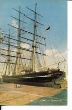 the cutty sark at greenwich  postcard