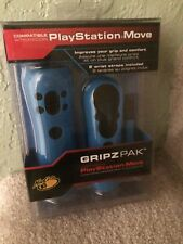 Mad Catz  MOVE GRIPZ PAK Comfortable Protective Cover for PS3 Controller Blue