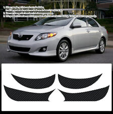 Carbon Door Cover Plank Protective Film Anti Kick For TOYOTA 2009-2010 Corolla