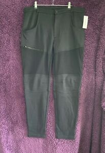 2(X)ist Men's Cotton Polyester Black Tappered Jogging Bottoms Size L $98