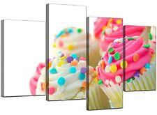 PINK Cup Cakes art. a muro cucina immagini stampe 130cm XL 4084