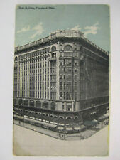 ROSE BUILDING POSTCARD CLEVELAND OH OHIO 1907