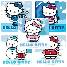 """25 Hello Kitty Winter Stickers, 2.5"""" x 2.5"""" each, Party Favors"""