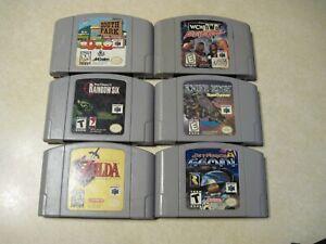 nintendo 64 game lot