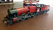1930s BASSETT LOWKE LMS 6100 ROYAL SCOT ELECTRIC TENDER LOCOMOTIVE O GAUGE