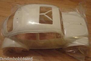 New Tamiya 9335562 White Hard PLASTIC BODY Shell for VW Volkswagen Sand Scorcher