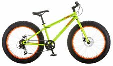 """Mongoose Talos 24"""" Fat Tire Bicycle, 14""""/One Size, Green"""