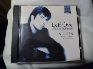"""NIELSEN - """"PIANO PIECES"""". LEIF OVE ANDNES, VIRGIN CLASSICS 1996 CD"""