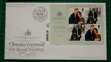 2018 The Royal Wedding Barcode M/S Royal Mail FDC St Georges Chapel postmark