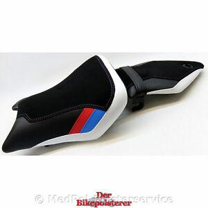 BMW S 1000 R/RR: Ziernähte, Gurt, Einlegestreifen, + 2cm, Sitz *NEU* beziehen