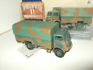 Reduced Corgi CC60301 Bedford QLT Troop Carrier , Royal Navy 1944 in 1:50 Scale