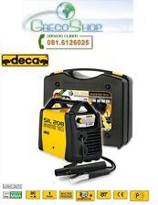 Saldatrice INVERTER ad elettrodo 80 Amp con valigetta e accessori Deca - SIL 208