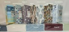 Attached Waterbed Sheet set- Solids & Prints - all sizes Ultra Soft Microfiber