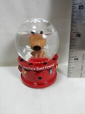 "2013 Hallmark Santa's Best Friend 2"" Snow Globe"