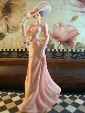 Thomas Kinkade Victorian Figurine Faithful to Pink Inspirations of Hope 2007