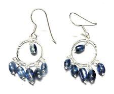 """Kyanite Gemstone 925 Sterling Silver Earring 2 .00 """""""