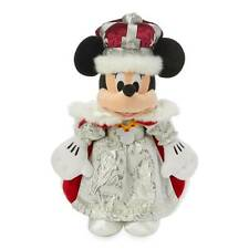 Disney Parks Epcot United Kingdom Queen Minnie Mouse Plush With Tag