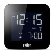Braun BNC008BK-RC Global Radio Controlled Travel Alarm Clock - Black RRP £29.99
