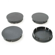 Set of 4 Plain Wheel Center Hub Caps 60mm Fits Vw Renault Fiat