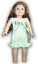 """EASY PEASY AMERICAN 18"""" GIRL DOLL DRESS FOR SPECIAL OCCASION CROCHET PATTERN"""