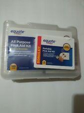 Equate All purpose First aid kit with bonus kit/NIP