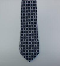 GIEVES & HAWKES Pure Silk Tie Vintage Purple Pattern 100% Silk Handmade In UK