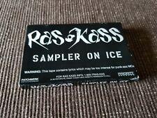 Ras Kass - Sampler On Ice Promo Cassette / 1996 Priority Records / Rare