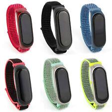 Nylon Armband Ersatz für Xiaomi Mi Band 3 & 4 Fitness Sport Tracker