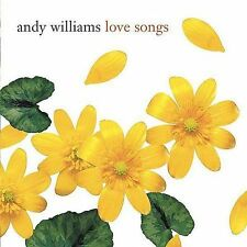 Love Songs by Andy Williams (CD, Columbia) Remastered/14 Most Beloved Classics