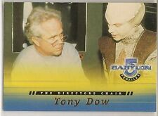 Babylon 5 Profiles Trading Cards The Directors Chair Chase Card DC2 Tony Dow