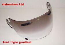 Gradient i Type Visor Fits Arai RX7 GP Corsair V Quantum ST Chaser V Defiant