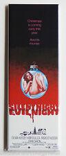Silent Night Evil Night FRIDGE MAGNET (1.5 x 4.5 inches) movie poster christmas