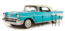 57 Chevy 210 & Bel-Air 2-Door Stainless Side Molding 10 Piece Set 1957 Chevrolet