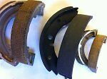 Brake shoe re lining service BSA Trumph Royal Enfield Villiers Greeves pre 65