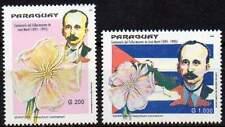 PARAGUAY 1995. José Martí. Fleur (2)