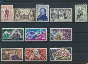 LN66911 Monaco mixed thematics nice lot of good stamps MNH