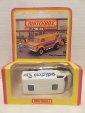 Matchbox Chevy Transporter Van 68 Adidas Die-Cast Car 1981 England Deutsch Pkg