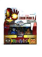 Marvel Minimates Iron Patriot & Extremis Iron Man 3 Movie Series 49 Figures New