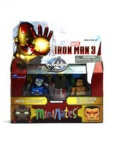 Marvel Minimates Iron Patriot & Extremis Iron Man 3 Movie Series 49 Figures New