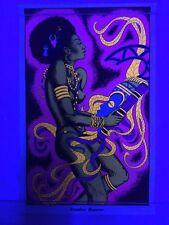 Vintage NOS Voodoo Dancer Blacklight 1970's Poster 11x17 Mini PP-1144 AA Sales