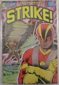 STRIKE 1-6 ECLIPSE COMIC SET COMPLETE LYLE CHUCK DIXON TIDWELL CLOWES 1987 NM