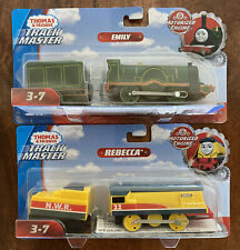 Lot of 2 Thomas & Friends Track Master -EMILY AND REBECCA -Motorized Engine- NEW