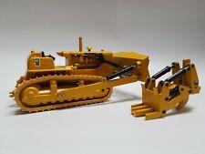 Rare Vintage Caterpillar D9G Dozer w/ Ripper & Drawbar 1:50 Scale