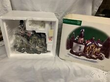 New England Village Series Trinity Ledge #56611 Village Piece New In Box