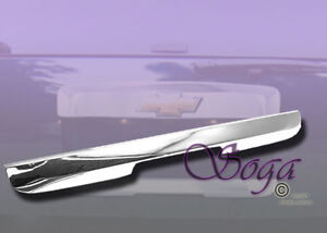 FOR 2007-2013 CHEVY TAHOE SUBURBAN TRUNK TAILGATE LOW LEFTGATE CHROME TRIM COVER