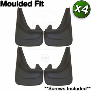 Custom MUDFLAPS MOULDED Contour Mud Flaps FORD Front and Rear of Car